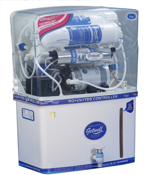 Getwell RO Water Purifier Model Apex with UV TDS Controller, RO Water Purifiers in Jaipur, RO Dealer in Jaipur, Rajasthan, RO Water Purifier Price in Jaipur, RO Water Purifier Parts in Jaipur, RO System Price in Jaipur, RO Water Purifier Service in Jaipur, Rajasthan