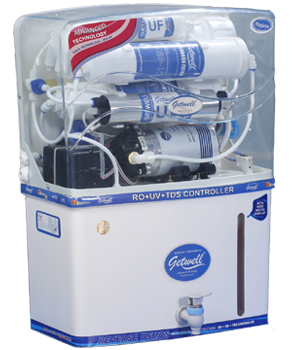 Getwell RO Water Purifier System (Hygiene, Apex, Dew, Sterile(UV) )